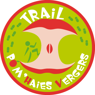 logo du trail pom'haies Vergers